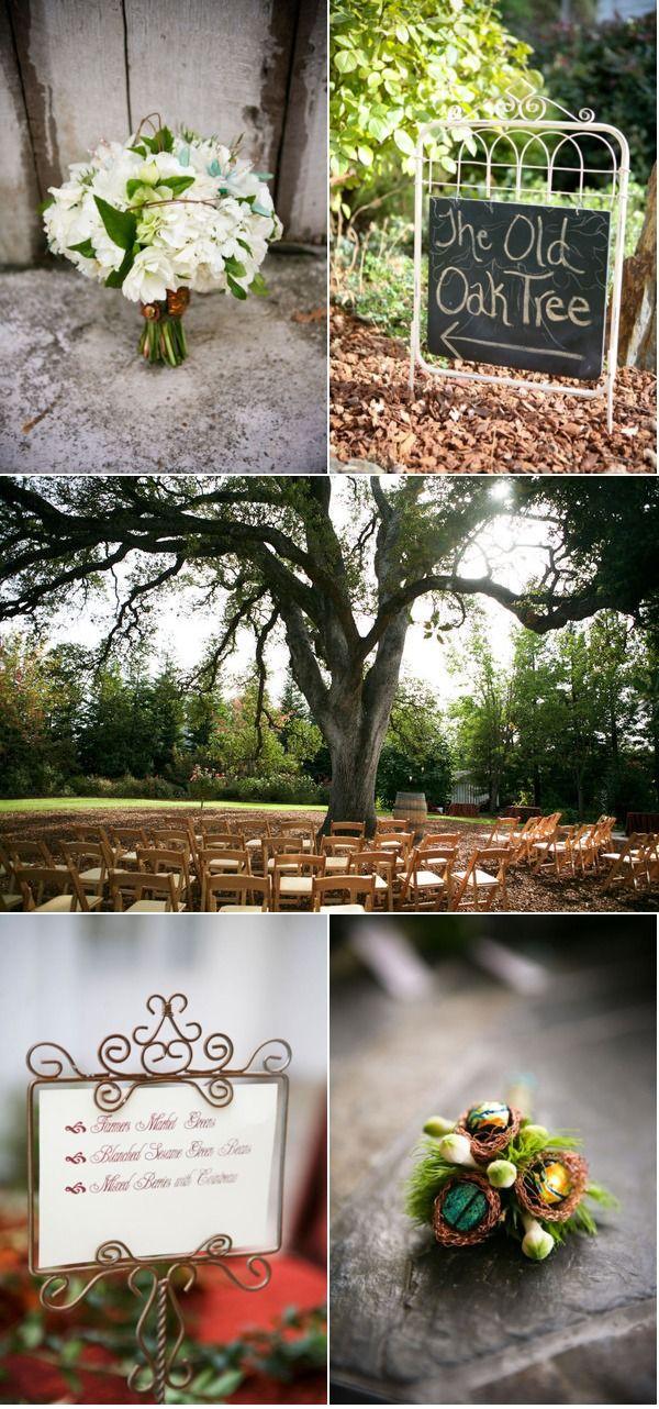 Backyard Sacramento Wedding by 2 Chic Events & Design ...
