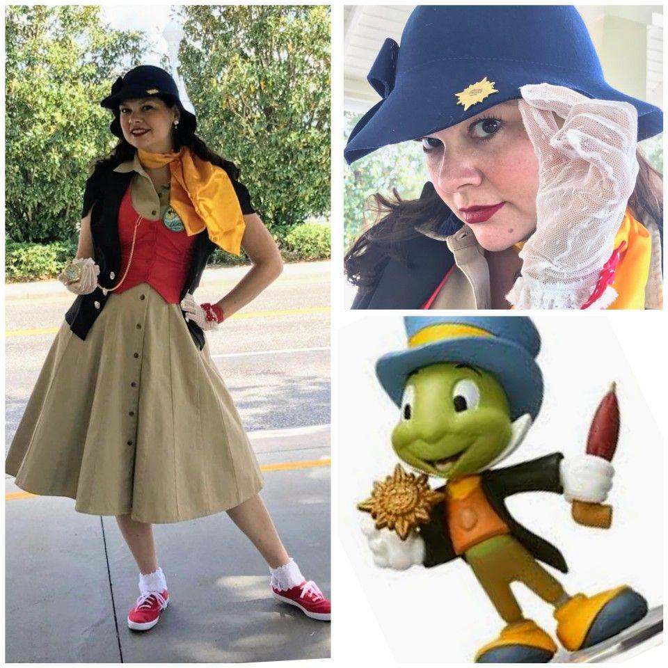 Jiminy Cricket Dapperbound Dapper Day Spring 2018 Dapper Day Disney Skirt Beautiful Outfits