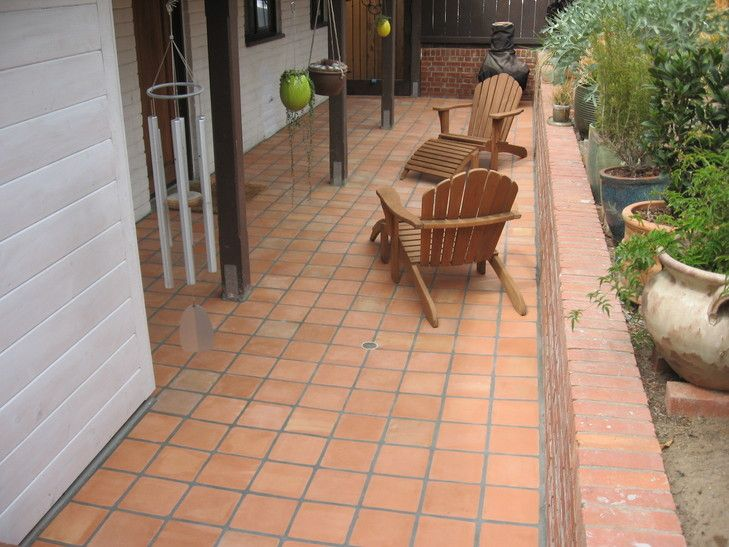 8 Inch Mexican Saltillo Tile Installer San Diego Patio