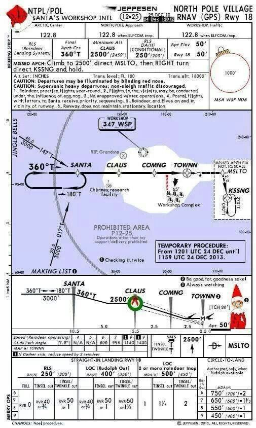 Santa   airport map for pilots also stuff to try aviation rh pinterest