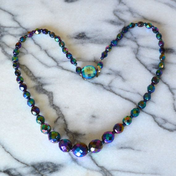 Luscious Lime and Purple necklace