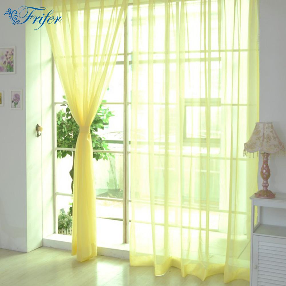 Modern Window Curtain Home White Tulle Curtains For Living Room