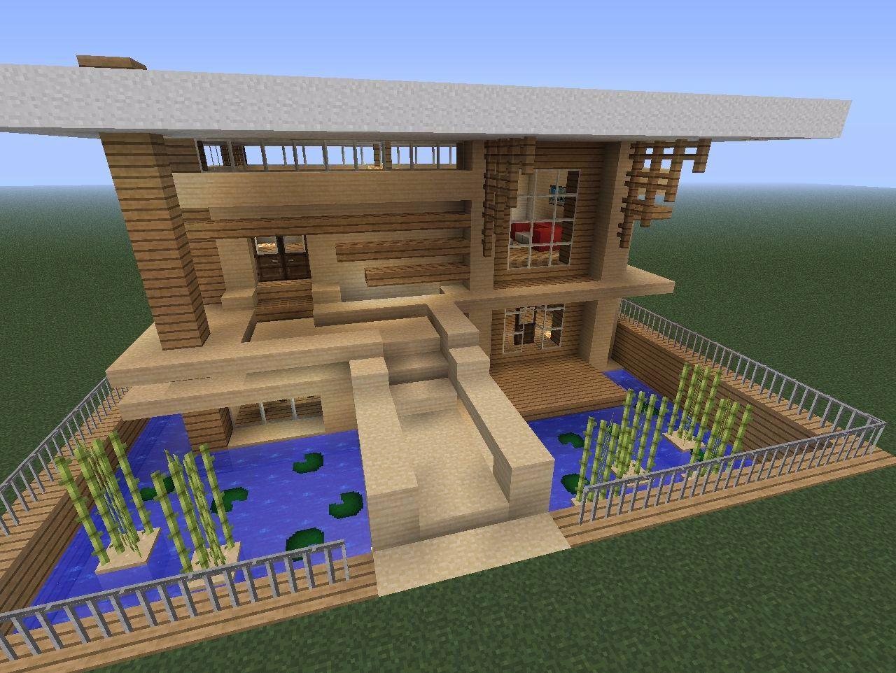 Minecraft house i wish it was my house minecraft pinterest minec - Construction maison minecraft ...