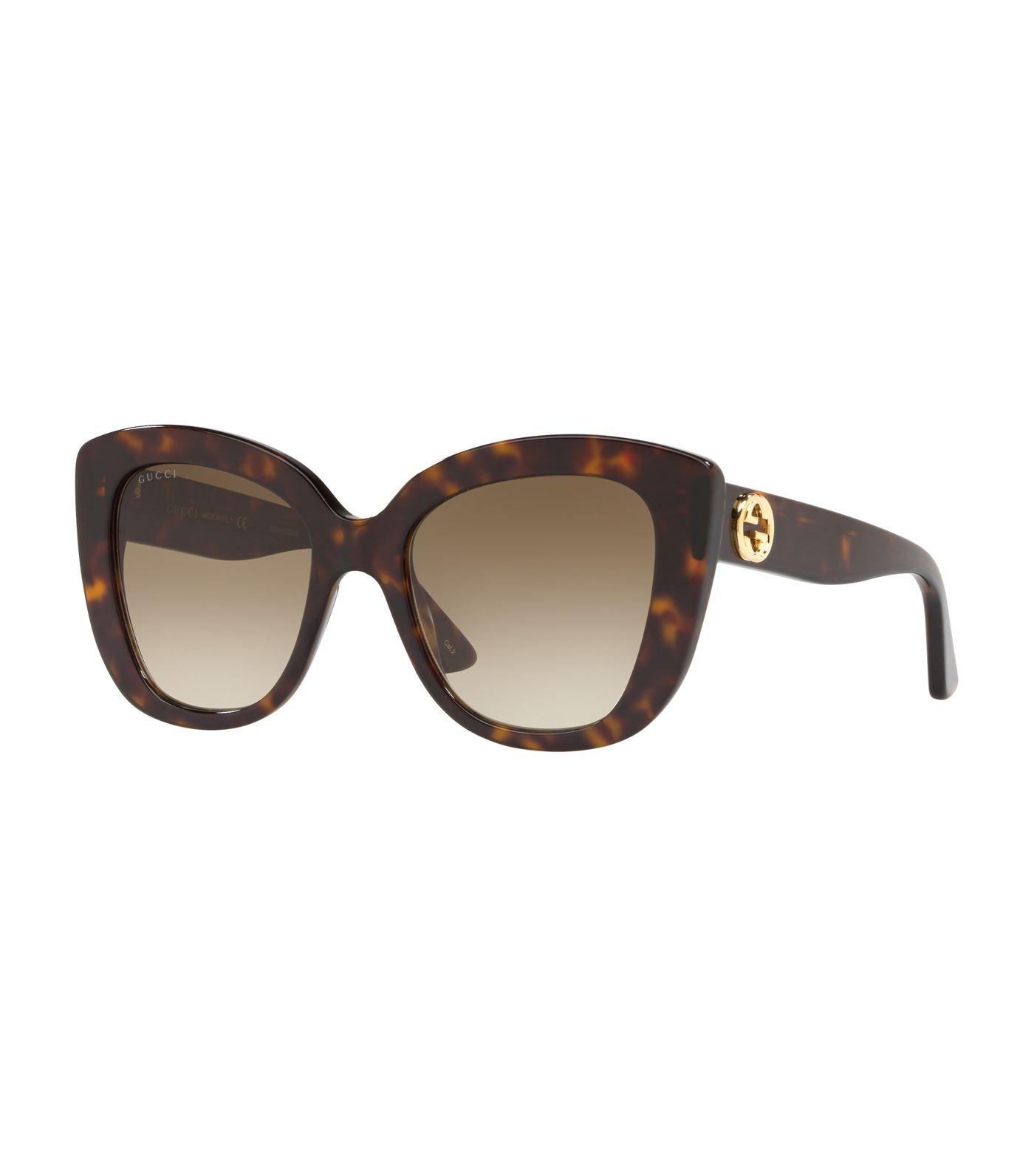 ef5363698d8 Gucci Havana Cat Eye Sunglasses  AD