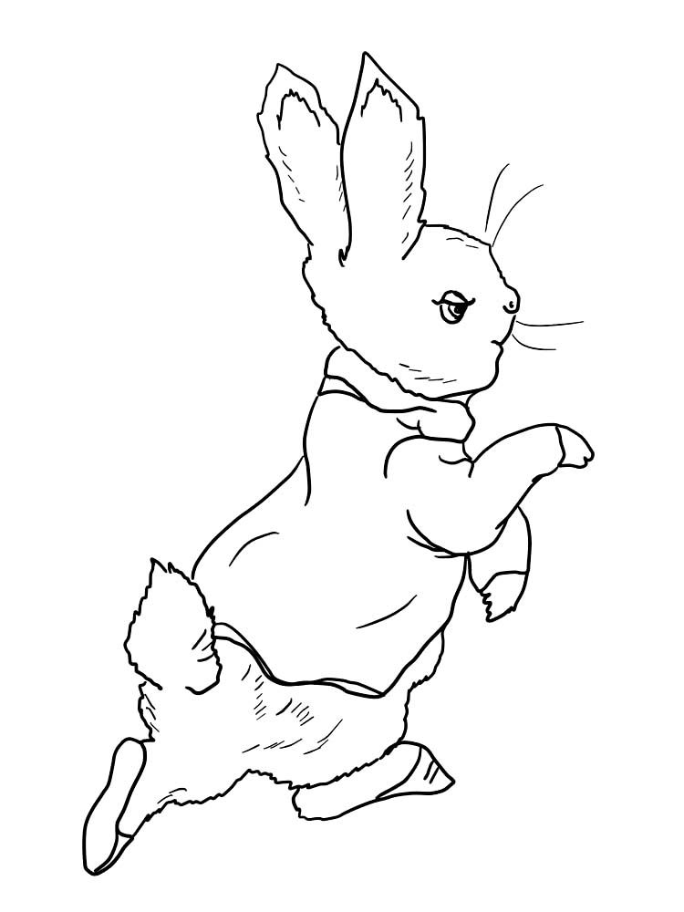 Easter Bunny Coloring Page Pdf Below Is A Collection Of Easy Bunny Coloring Page Which You C Bunny Coloring Pages Easter Bunny Colouring Animal Coloring Pages