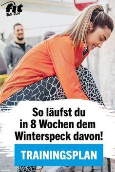 Trainingsplan Laufen: 8-Wochen-Plan gegen den Winterspeck #workoutchallenge