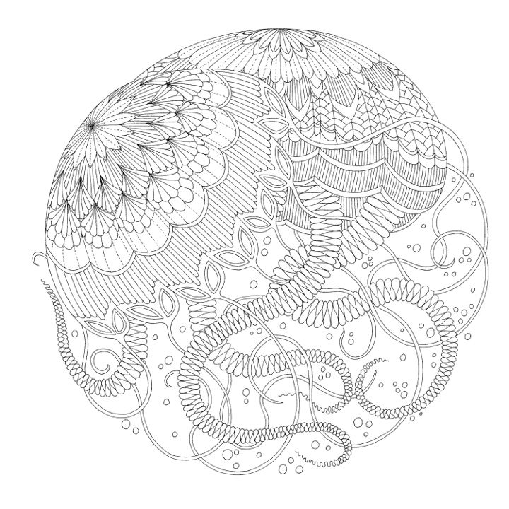 An Interview With Colouring Book Illustrator Millie