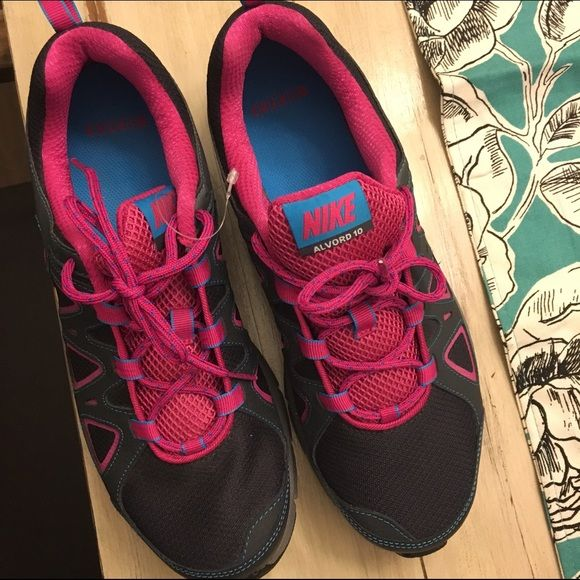 Nike Alvord 10 Trail shoes Never worn, brand new Nike shoes! Sold out on the sites I looked! Make an offer! These are a bit big for me Nike Shoes Athletic Shoes