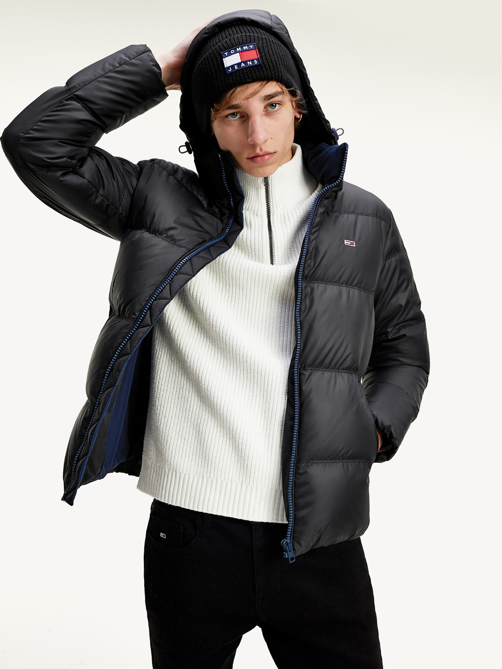 Recycled Shell Down Jacket Tommy Hilfiger Tommy Hilfiger Jackets Tommy Hilfiger Man Jacket [ 1333 x 1000 Pixel ]