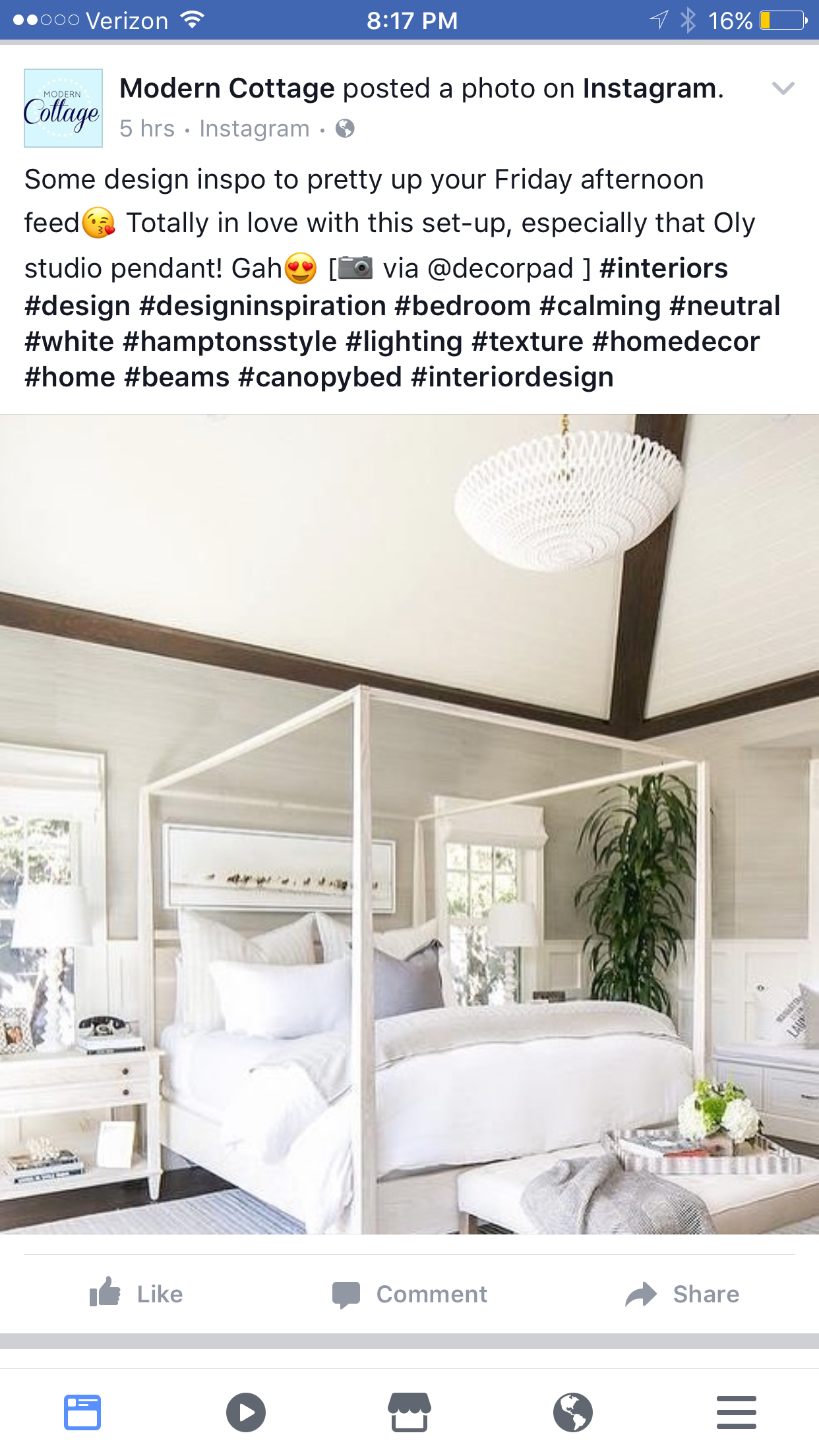Love how light and airy this bedroom is new house master bedroom