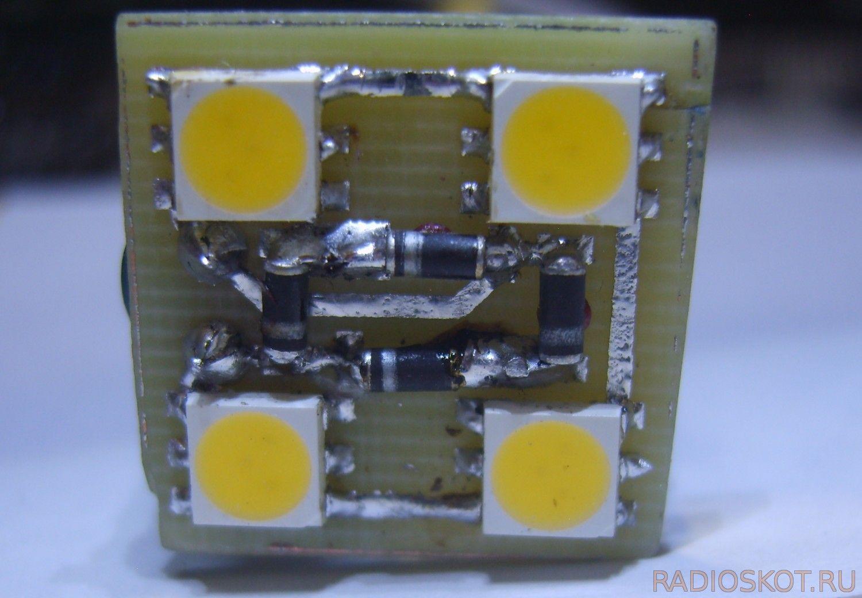 Светодиодный светильник своими руками: схемы, фото