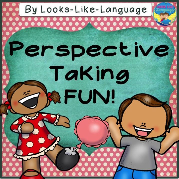 Tricks and perspective taking! Tell about feelings and point of view on April Fool's Day and year round! $