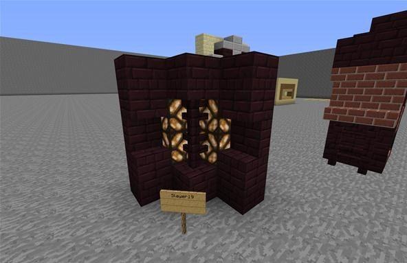 Minecraft Village Walls