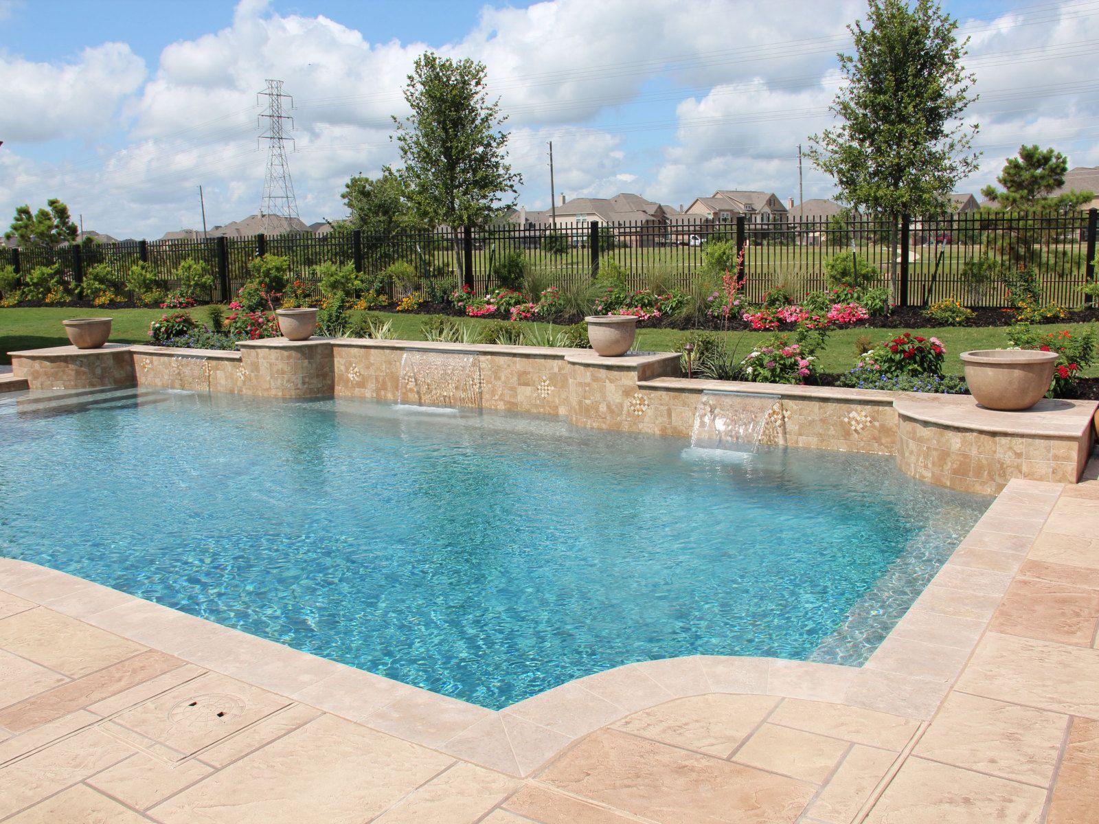 Contemporary Swimming Pools Design 145 Custom Outdoors Swimming Pools Pool Designs Custom Swimming Pool