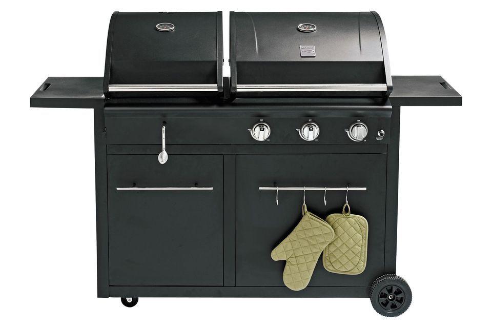 Nexgrill 3 Burner Charcoal Gas Combo Grill Model 720 0718