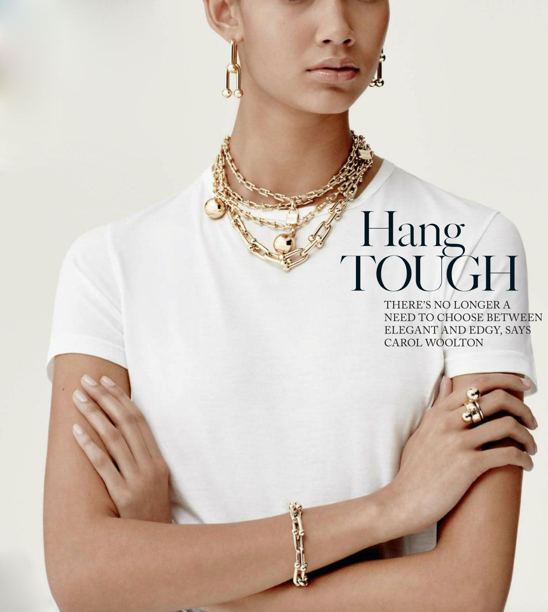 The Tiffany City Hardware Collection Anne Klein Watch