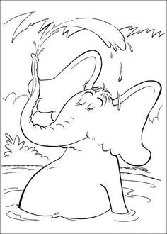 Here Is A Small Collection Of Dr Seuss Coloring Sheets For Your