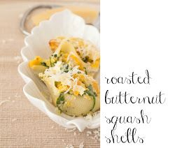 Housewife In Town: {food} roasted butternut shells