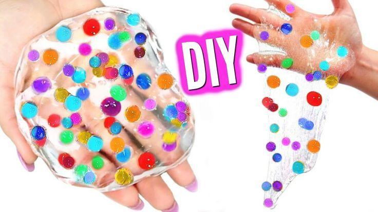 DIY ORBEEZ SLIME! Make Orbeez Glass Putty! Orbeez slime