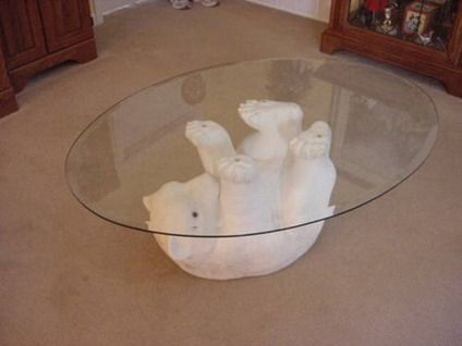 bear sculptures for sale | 125 coca-cola bear coffee table for