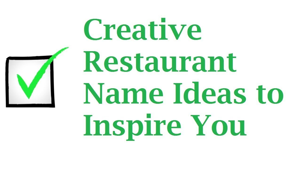 30+ creative restaurant name ideas to inspire you | restaurant names