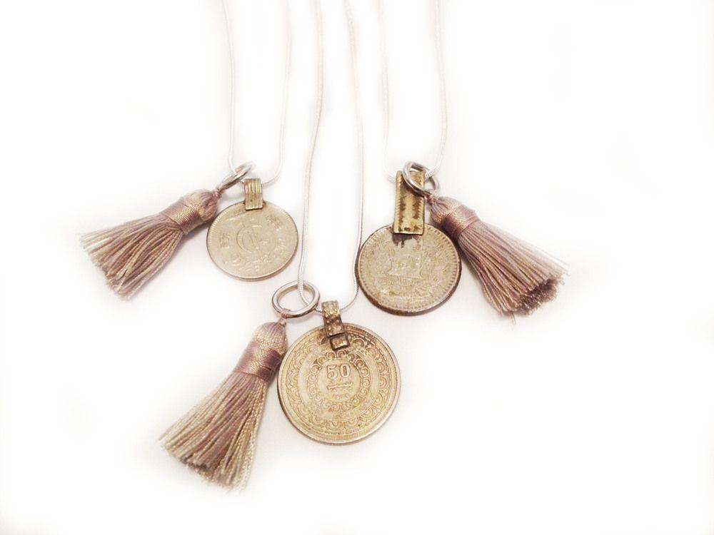 Arrow Divine | Mini Tassel Necklace