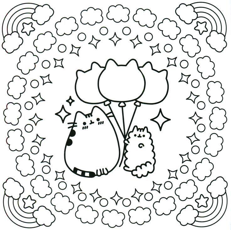 Pusheen Coloring Book Pusheen Pusheen the Cat | Color Sheets for ...