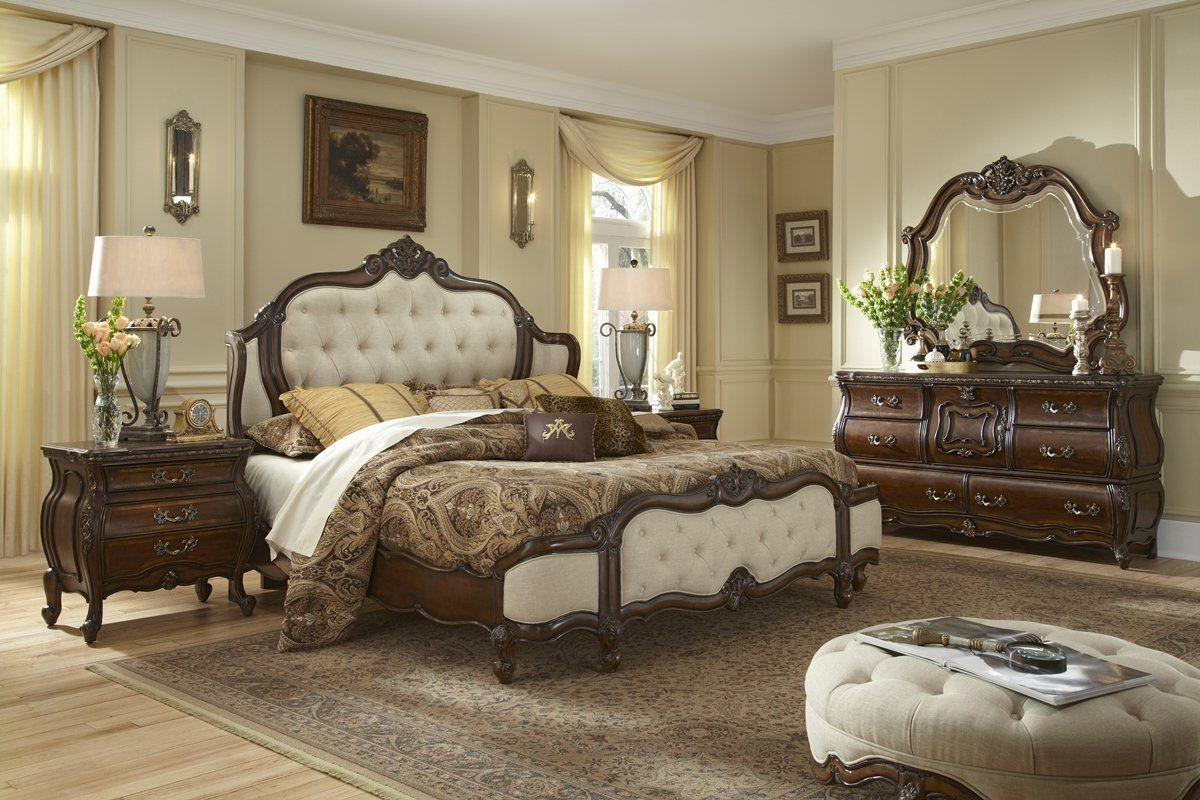 Best Amazon Com Lavelle Melange Wing Upholstered Bed 400 x 300
