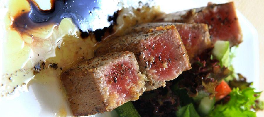 Thon rouge grillé