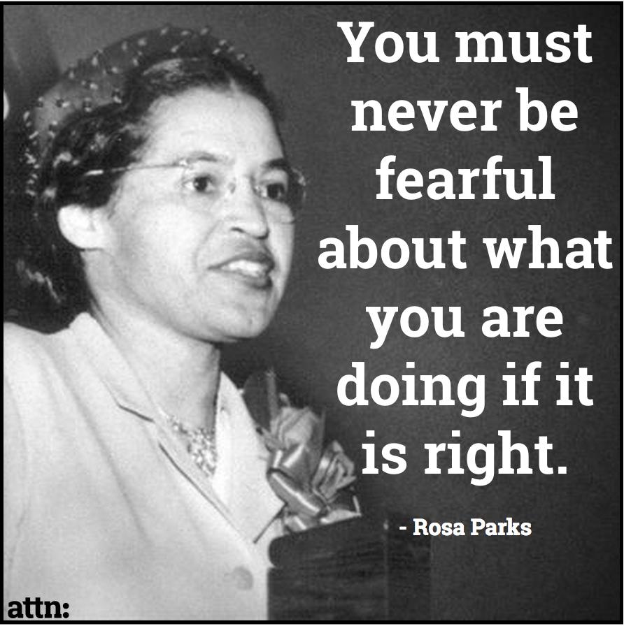 Happy Birthday Wonder Woman Quotes: Happy Birthday To Civil Rights Icon Rosa Parks!