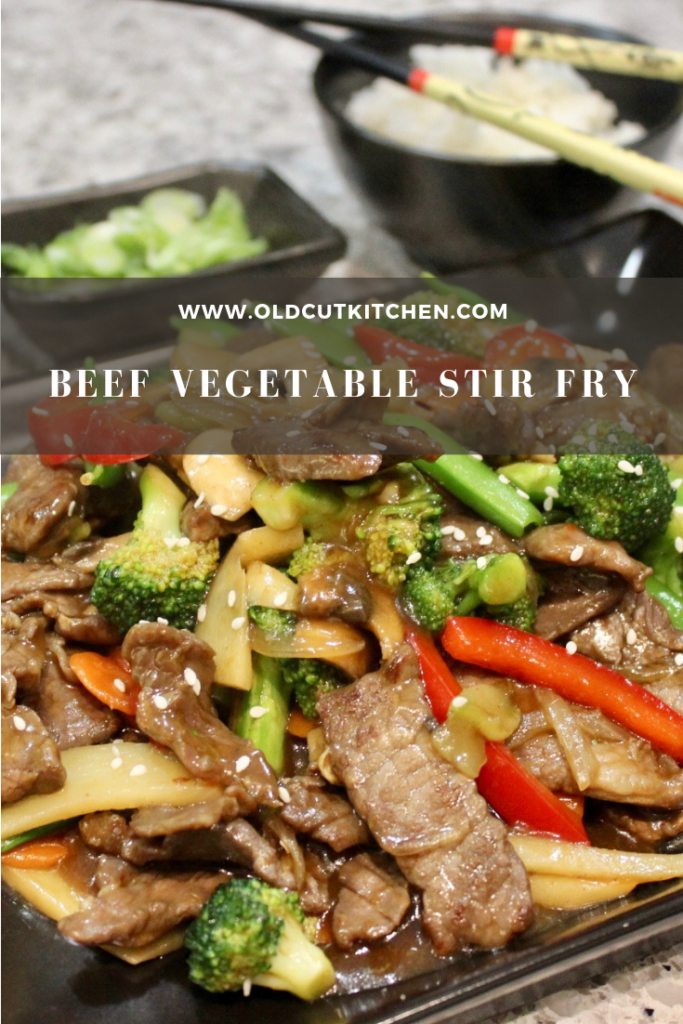 Beef Vegetable Stir Fry #vegetablestirfry Beef Vegetable Stir Fry - with an authentic restaurant style sauce #stirfrysauce