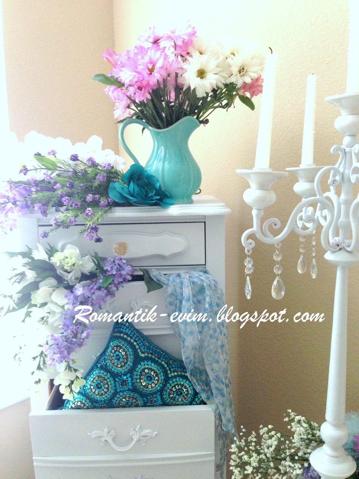 Blue Shabby chic decorat…