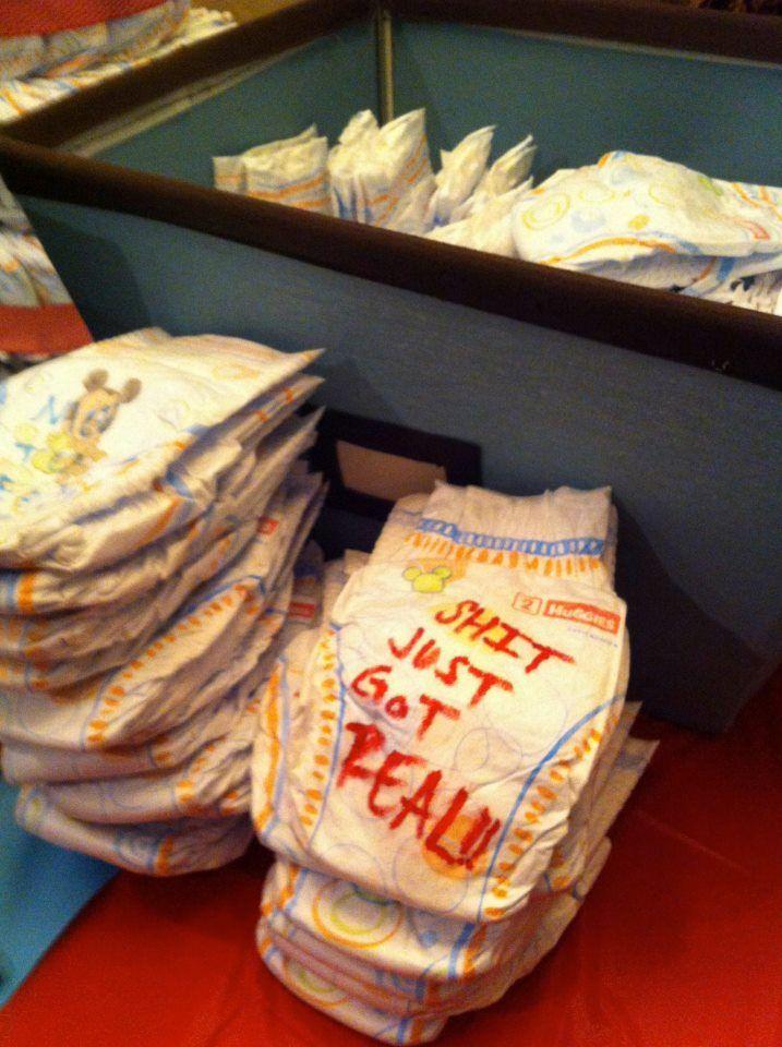 Funny Diaper Messages : funny, diaper, messages, Baby...Shower!