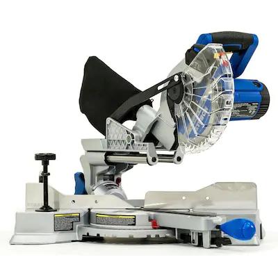 Kobalt Compact Sliding 7 1 4 In 10 Amp Single Bevel Bevel Sliding Compound Miter Saw At Lowes C In 2020 Sliding Compound Miter Saw Compound Mitre Saw Sliding Mitre Saw