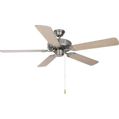 "Wildon Home ฎ 89905SN Ceiling Fans Basic-Max 52"" 5 Blade ..."