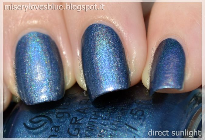 China Glaze Strap On Your Moonboots  by QueenMiSeRy at miserylovesblue.blogspot.it