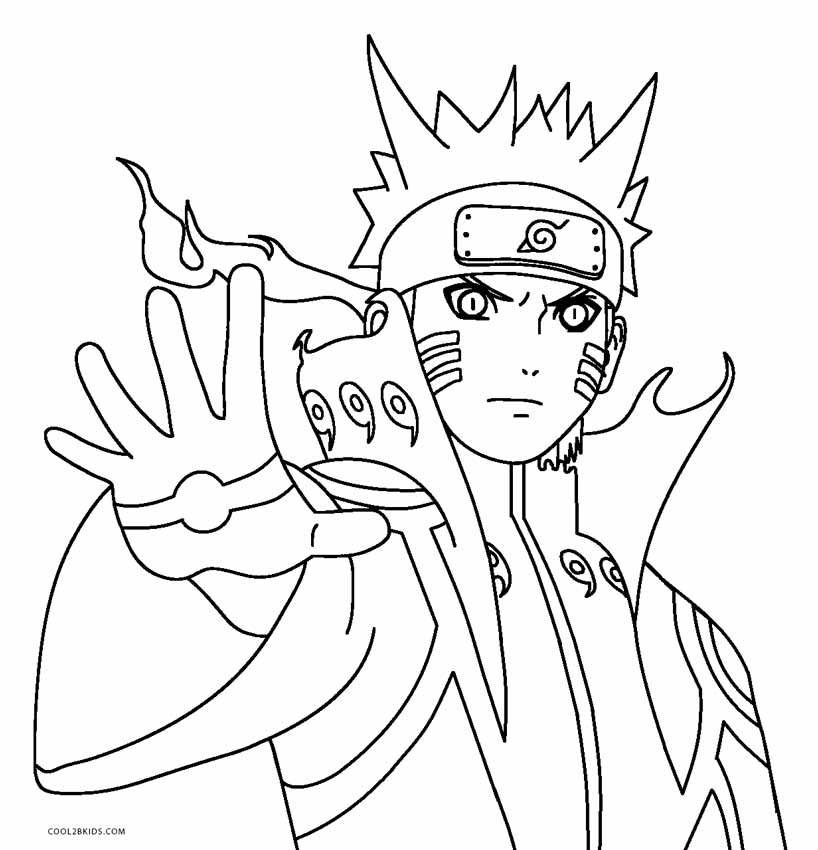 Free Printable Naruto Coloring Pages For Kids In 2020 Coloring Pages For Kids Super Coloring Pages Coloring Pages