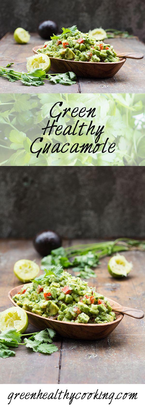 Green Healthy Guacamole Recipe Benefits of organic