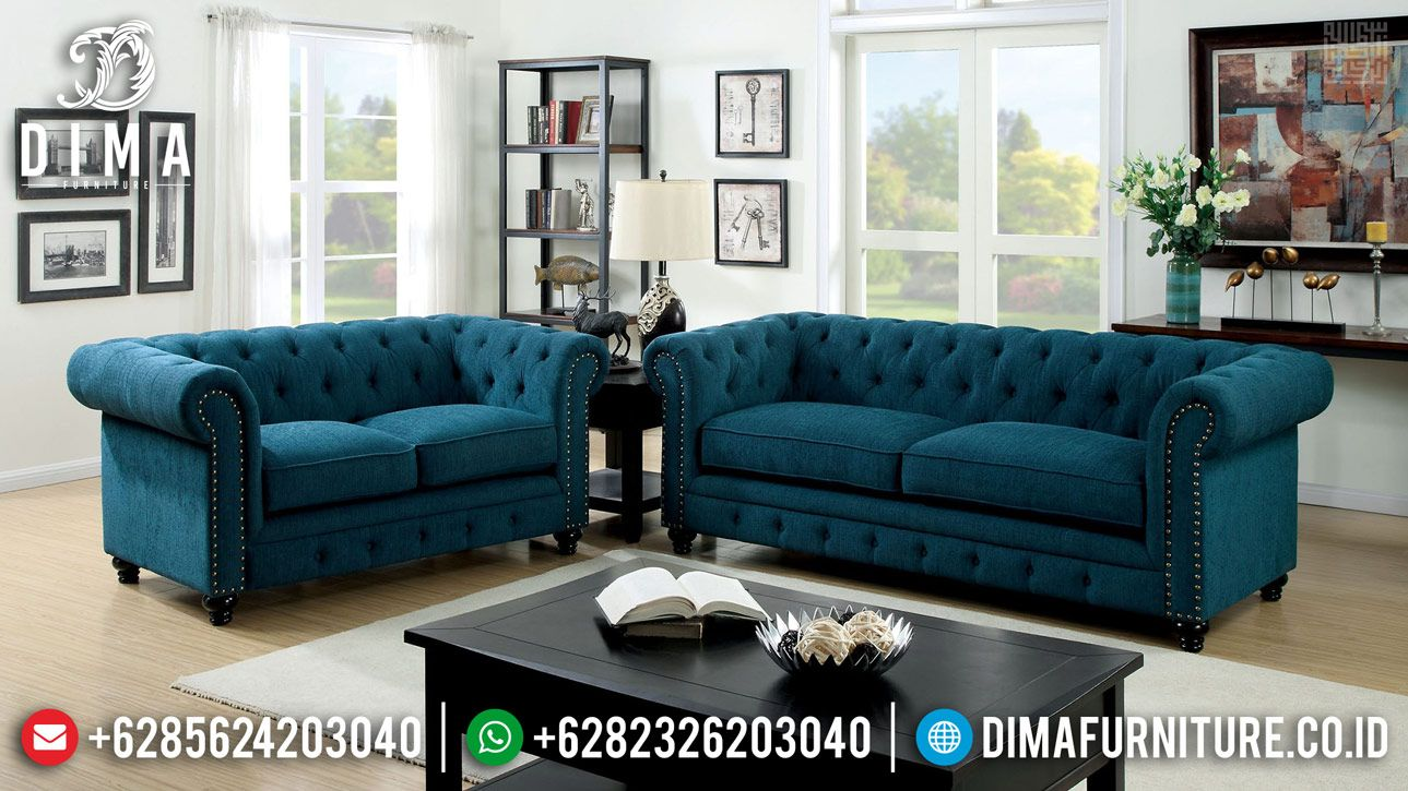 Furniture Jepara Terbaru Sofa Tamu Minimalis Chester 2020 Df 1168