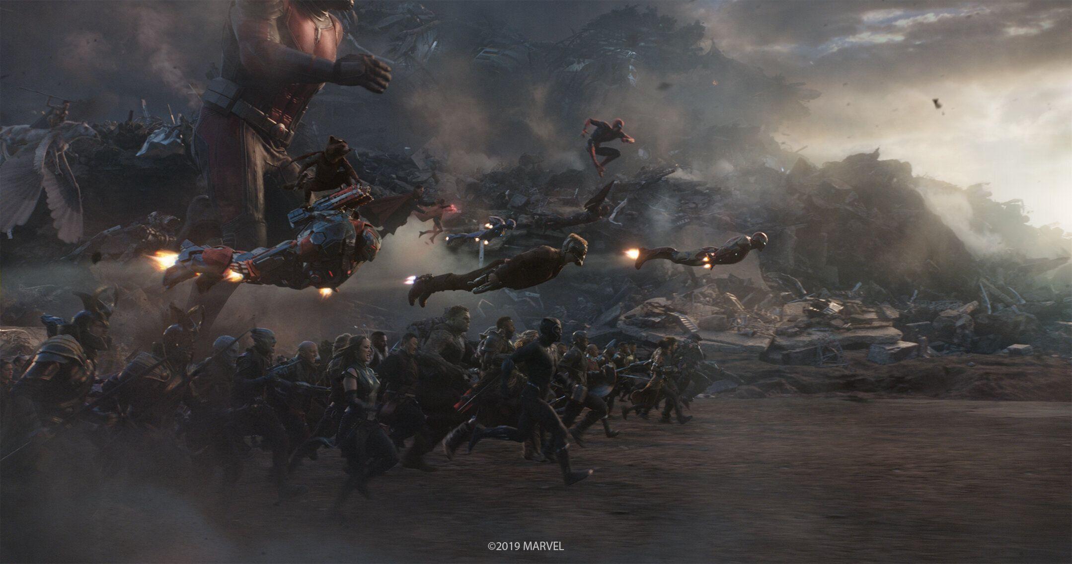 AVENGERS ENDGAME Spoiler VFX Stills Highlight Hulk's New