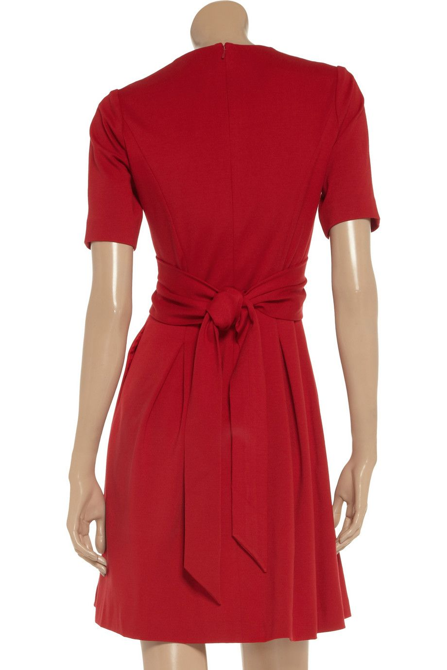 Issa Pleated stretch-jersey dress - 55% Off Now at THE OUTNET