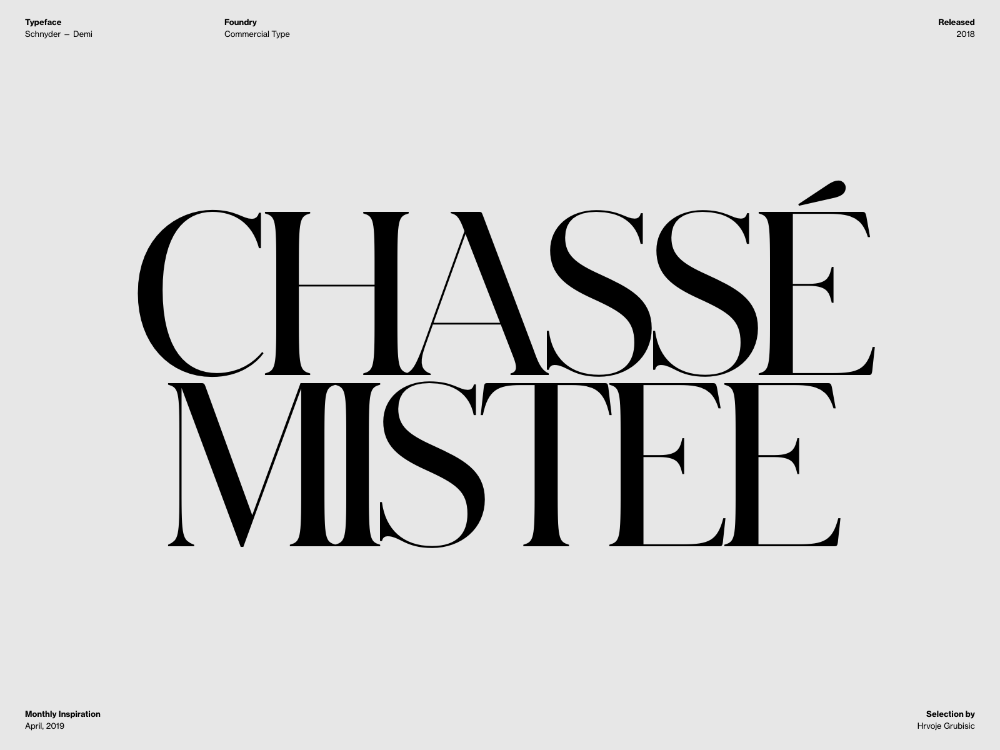 Typography Inspiration April 2019 Font Selection Typography Inspiration Typography Typography Letters