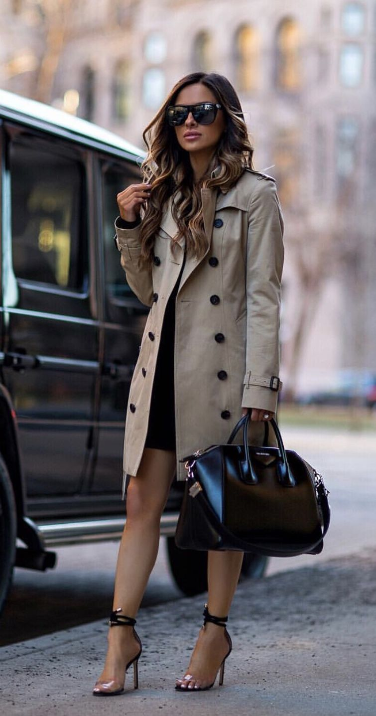 11 Outfits con chaquetas o abrigos largos | Ropa ejecutiva ...