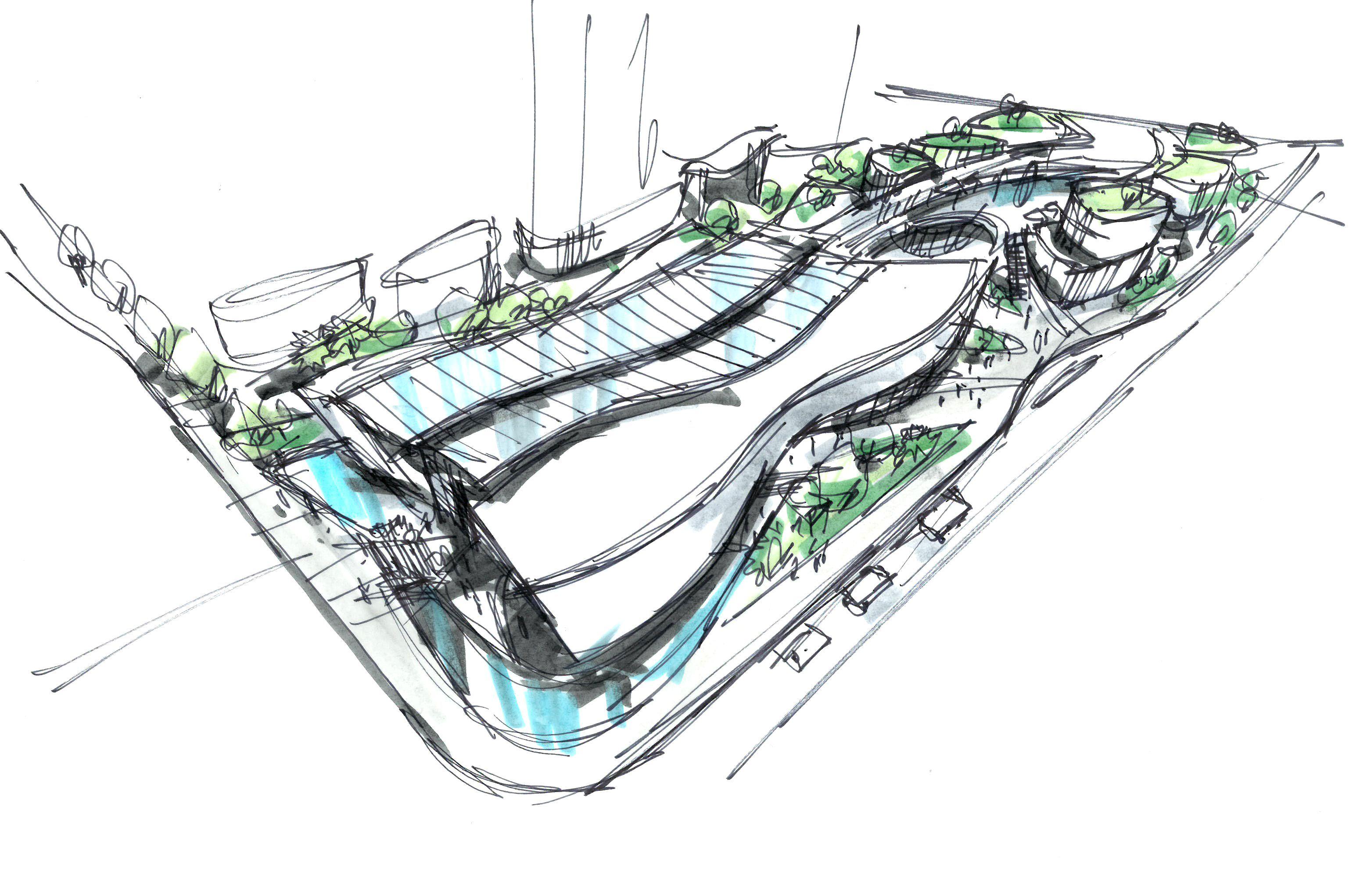 sales center concept I Randy Carizo in 2020 Architecture