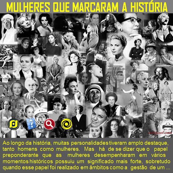 Mulheres que marcaram a história  http://vai.la/kv9C