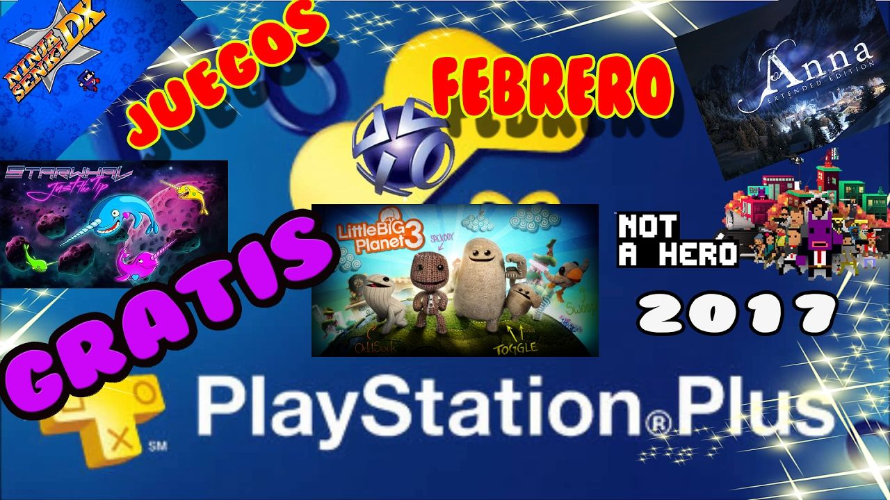 Juegos Gratis Psn Plus Febrero 2017 Ps4 Ps3 Ps Vita Ps Plus Juegos