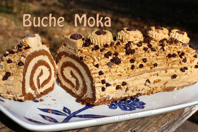Buche de noel au beurre moka