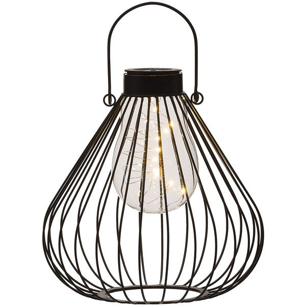 Transpac imports garden geometry solar lantern 125 pln liked on explore solar powered outdoor lights and more aloadofball Gallery