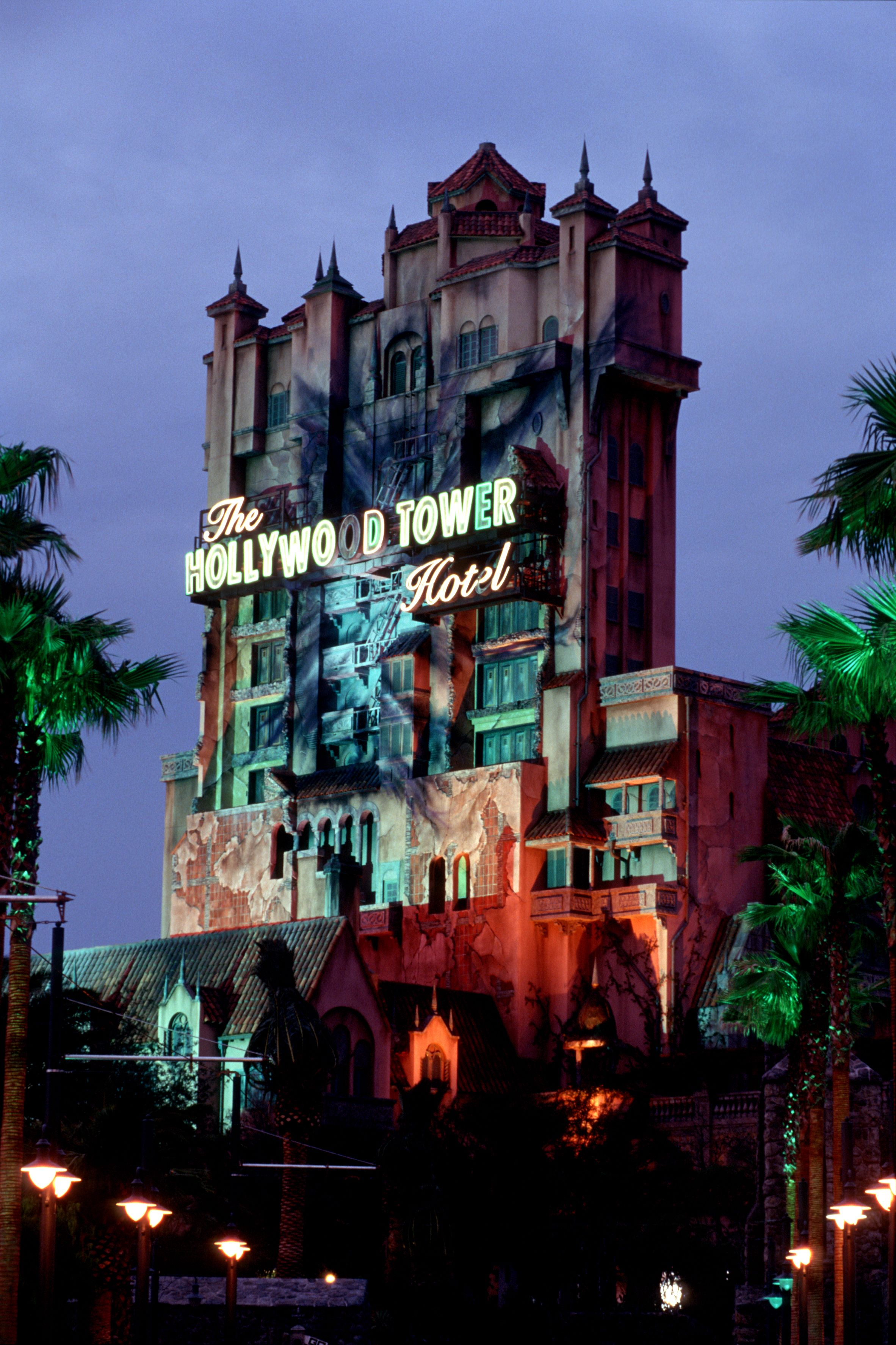Hurtle Up And Down The Infamous Hollywood Tower Hotel