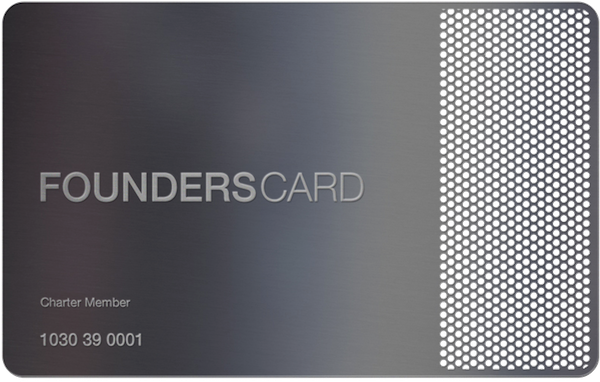 Founders Card Membership Designed By Hovard Design   Design